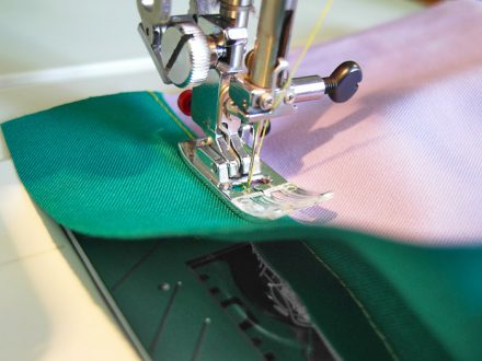 Understitching the facing