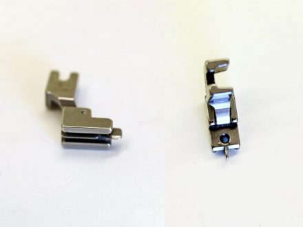 An invisible zipper foot, sewing machine presser foot