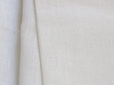 Example of woven fabric - cotton canvas