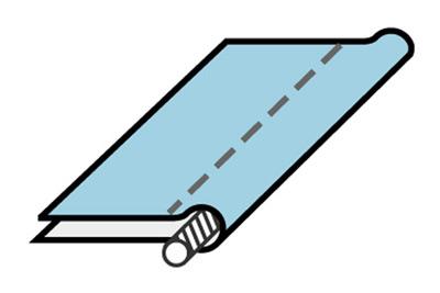 Cord piping - making and sewing piping