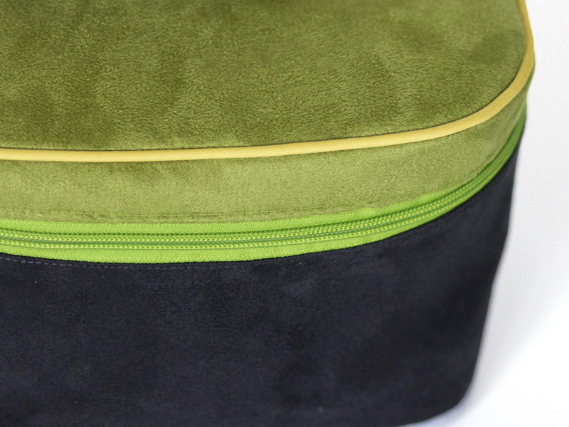 How to sew a piping into a bag, tutorial